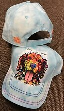 New GOLDEN RETRIEVER DOG IS LOVE HAT CAP RUSSO