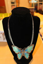Blue Butterfly Choker new