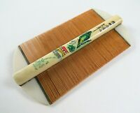 Vintage Oriental Fine Hair, Bamboo Toothed Comb