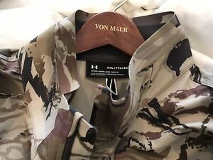 """Bnwtags Under Armour Storm Barren Camo! $180 Size 2XL Loose Fit! Fall Hunt"""""""""""""""