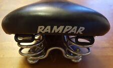Vintage, RAMPAR, Black, Bike Saddle Seat