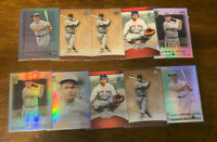 L971 - JIMMIE FOXX - LOT OF 10 BASEBALL CARDS - RED SOX -