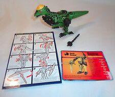 Transformers Beast Machines Dinobots Dinotron 100% Complete Action Figure Set