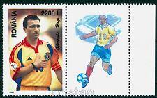 "2001 HAGI,the KING,""Comandante"",Famous Football player,Romania,5571,TAB/H-R2,MNH"