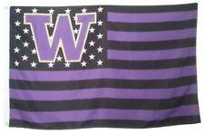 University of Washington Huskies NCAA Stars & Stripes 3' x 5' Banner Flag