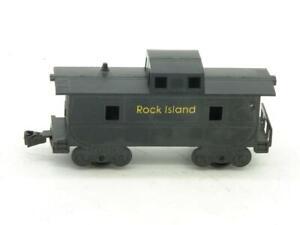 Marx Mexico Great Lakes Promotions Plastimarx Black Plastic Rock Island Caboose