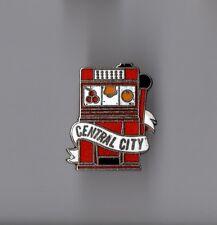 Pin's casino / Machine à sous - Central city (EGF)