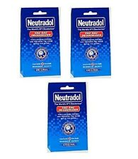 3 x Packs Of 3 Neutradol Original Vacuum Sac Deodorizer Sachet Vac Freshener