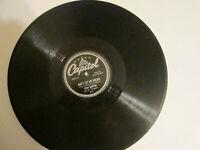 Stan Kenton Don't Let Me Dream ~ It's Been A Long, Long Time Capitol 219 78 rpm