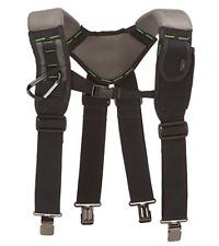 McGuire Nicholas Gel Foam Padded Suspender Work Tool Belt BL - 30289 NEW !!