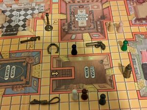 1988 Parker Brothers Master Clue Board Game Replacement Parts