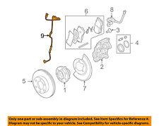 Hummer GM OEM 06-08 H3 ABS Anti-lock Brakes-Front Speed Sensor 15874864