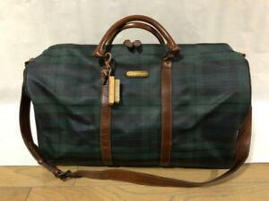 Polo Ralph Lauren Boston Bag Greens PVC