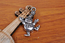 10pcs 30*18mm Charm Father christmas pendant Diy Jewelry Making Bracelet 7179