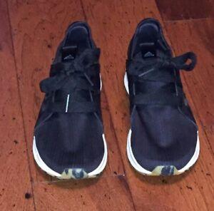 Adidas Edge Lux H68513 Black White Women Size 8.5