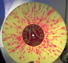 THE ULCERS Hot Skin & Cold Cash - COLOURED Splatter VINYL LP - 2004 - PUNK - EX+