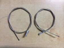 Stainless Steel cable with 2 clamps to suit Tapepro mudbox  MBA-31  , 2pcs