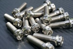 KTM Replacement Titanium M8 x 1.25 Bolts