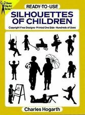 Ready-to-Use Silhouettes of Children (Dover Clip Art Series)