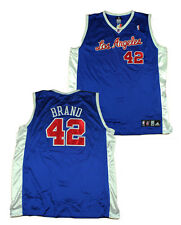 NBA Los Angeles Clippers Men's Adidas Authentic Jersey Brand #42