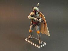 Pack de 50 star wars figurine moderne présentoirs large position POTF2