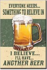 Retro Design USA Bier Bar Kneipen Magnet Magnetschild