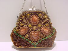 WOMEN'S EVENING BAG WITH INTRICATE BEADED DETAILING #707