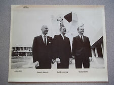 Vintage # NASA Group Photo of Apollo 11 Crew in Suits