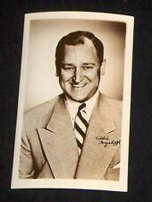 Eddie Mayehoff 1940's 1950's Actor's Penny Arcade Photo Card