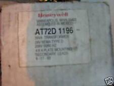 Honeywell At72D 1196, 30 Va 208 X 24 Volt Transformer New