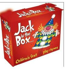 JACK IN THE BOX - CHILDREN'S FIRST PLAY RHYMES  3CD SET - FREE POST IN UK
