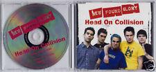 NEW FOUND GLORY Head On Collision 2002 UK 1trk promo CD