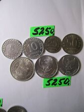 7 x  coins Indonesia      35   gms      Mar5250