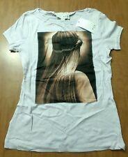 MNG by Mango med tee NWT braided hair T shirt Kate Moss or Miranda Kerr