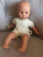 Gotz 14 inch blue eyed soft bodied baby doll