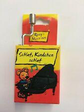 Kurbelspieldose Musik-Box-Spieluhr Melodie Schlaf Kindchen 1 Stk. Fridolin 59205