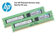 2x 8gb 16gb ddr3 RAM ECC UDIMM SERVER HP PROLIANT gen8 g1610t MicroServer 712288-581