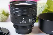 Nikon AF  Nikkor  85 mm 1.4  D mit GegenlichtBLNDE, with hood