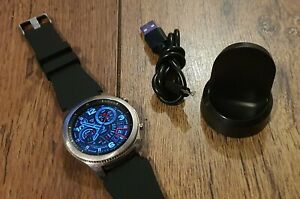 Samsung Gear S3 Silver Activity Heart Rate Tracking Health Smartwatch