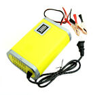 Yellow 12V 6A Motorcycle Car Auto Battery Charger Intelligent Charging Machine