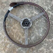 1937 Buick Banjo Steering Wheel GM Accessory Lowrider Cholo 1930s