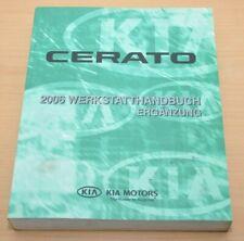 KIA Cerato 2006 Motor D4FB DSL 1,6 Schaltgetriebe Schaltpläne Werkstatthandbuch