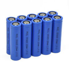 10x 18650 Batteries 3.7V 2200mAh Li-ion Rechargeable Battery for Vape Mod PKCELL