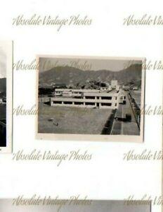 OLD PHOTO GEORGE V SCHOOL KWONG ROAD HOMANTIN KOWLOON HONG KONG VINTAGE 1940S