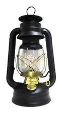 Glo Brite by 21st Century 210-76000 Centennial Gold Trim Oil Lantern, Black
