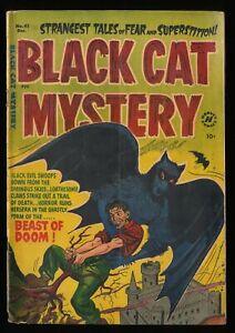 Black Cat Mystery #41 GD/VG 3.0 Pre Code Horror!