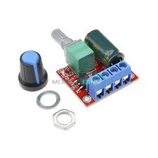 DC 5V 6V 9V 12V 24V 5A PWM DC Motor Speed Controller Regulator Switch LED Dimmer