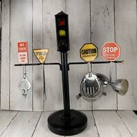 Vintage STOPLIGHT Bar Gadgets STOP YIELD CAUTION Japan Replacement Display