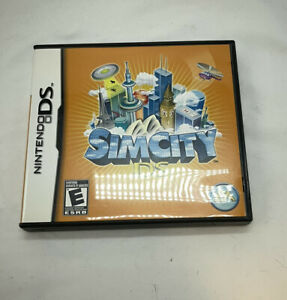 Sim City DS (Nintendo DS, 2007) Complete In Box
