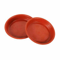 10Pcs Heavy-Duty Plastic Saucer Planter Plant Pot Saucers Water Tray Base Tool